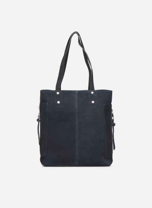 Handtassen Esprit Pia Cuir Shopper Blauw detail