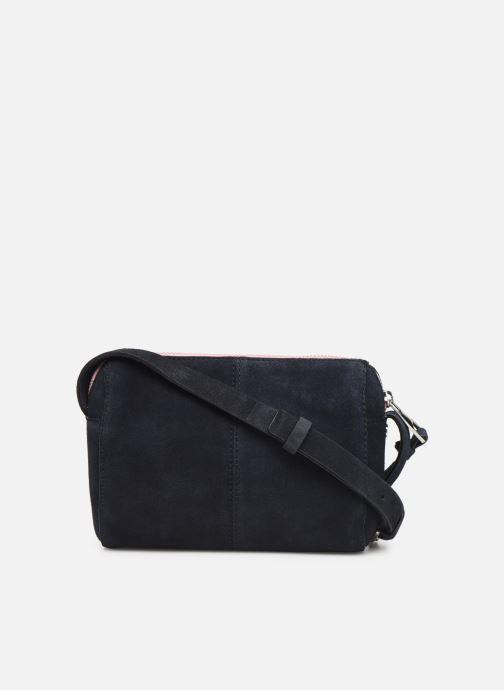 Sacs à main Esprit Pia Cuir Small Shoulder Bag Bleu vue face