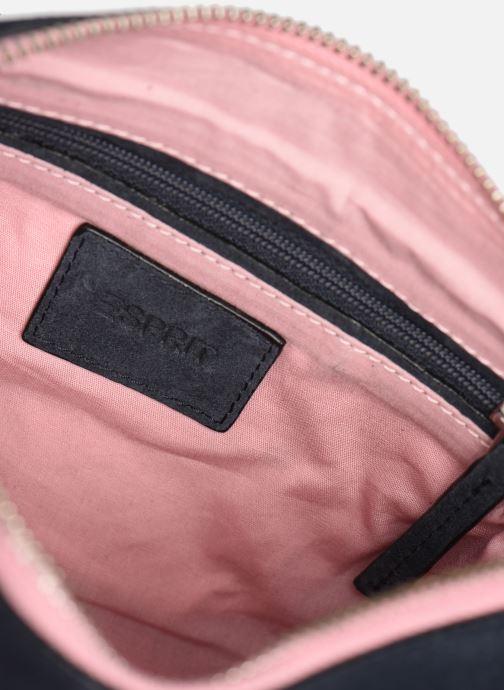 Sacs à main Esprit Pia Cuir Small Shoulder Bag Bleu vue derrière