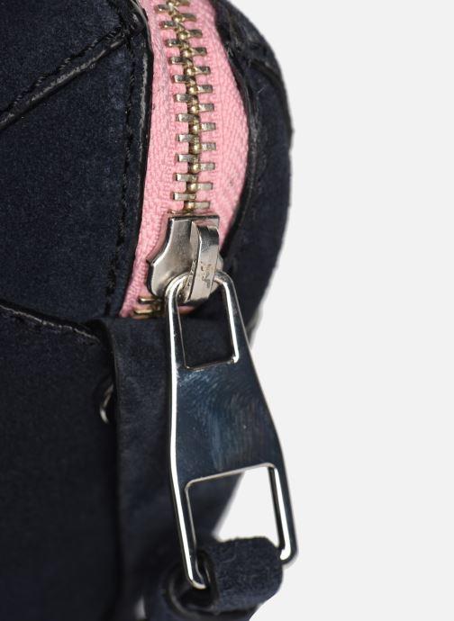 Bolsos de mano Esprit Pia Cuir Small Shoulder Bag Azul vista lateral izquierda