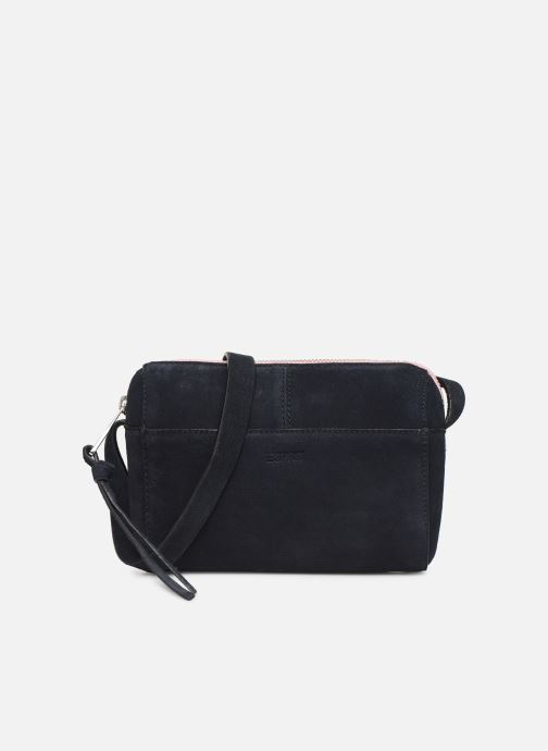 Bolsos de mano Esprit Pia Cuir Small Shoulder Bag Azul vista de detalle / par
