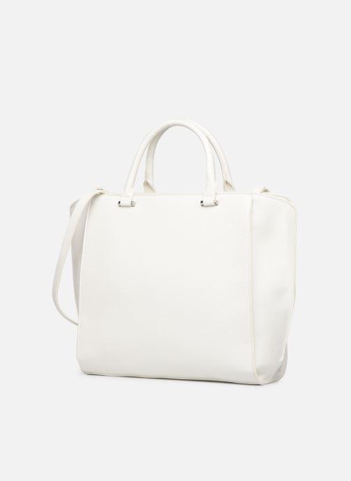 Bolsos de mano Esprit Megan City Bag Blanco vista del modelo