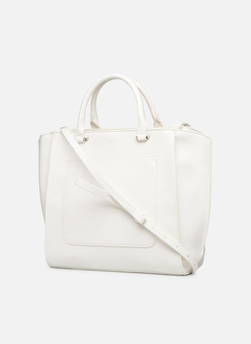 Handbags Esprit Megan City Bag White view from the right