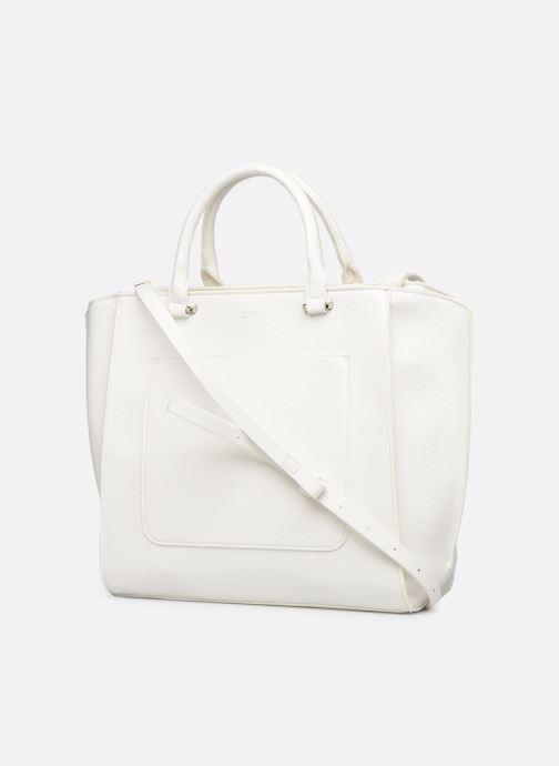 Bolsos de mano Esprit Megan City Bag Blanco vista lateral derecha