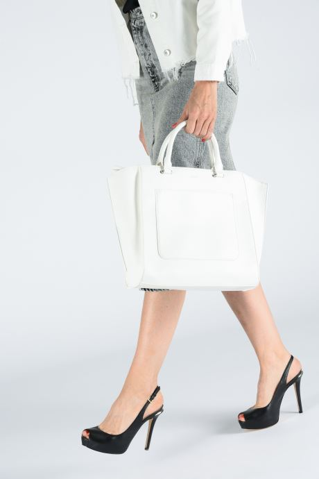 Handbags Esprit Megan City Bag White view from underneath / model view