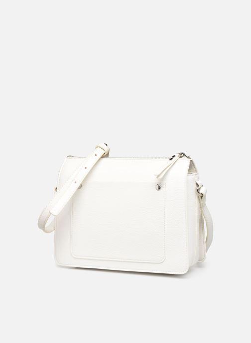 Sacs à main Esprit Megan Small Shoulder  Bag Blanc vue portées chaussures