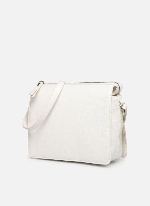 Sacs à main Esprit Megan Small Shoulder  Bag Blanc vue droite