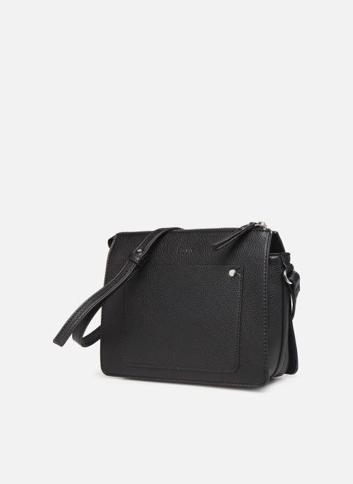 Sacs à main Esprit Megan Small Shoulder  Bag Noir vue portées chaussures