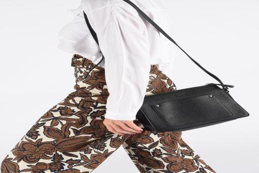 Sacs à main Esprit Megan Small Shoulder  Bag Noir vue bas / vue portée sac