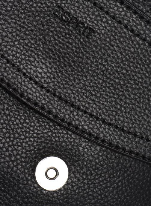 Bolsos de mano Esprit MARGO VEGAN Negro vista lateral izquierda