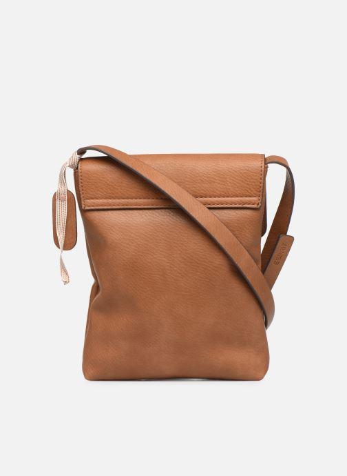 Bolsos de mano Esprit Mona Small Shoulder Bag Marrón vista de frente