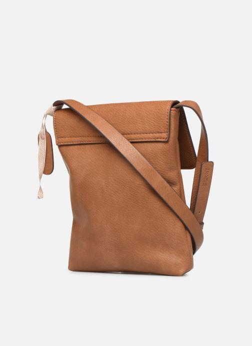 Bolsos de mano Esprit Mona Small Shoulder Bag Marrón vista lateral derecha