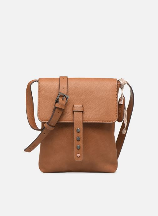 Handtassen Esprit Mona Small Shoulder Bag Bruin detail