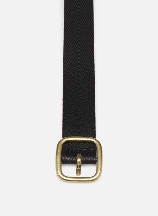 Ceintures Esprit Herringbone Belt Noir vue portées chaussures