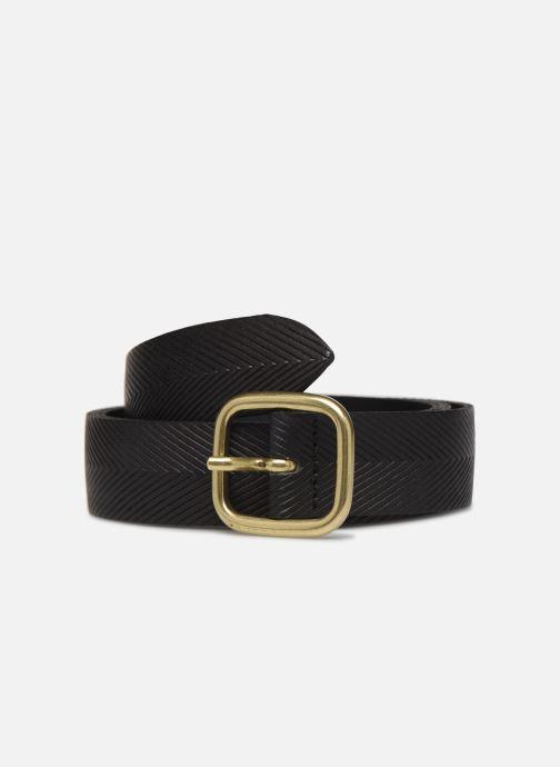 Cinturones Esprit Herringbone Belt Negro vista de detalle / par