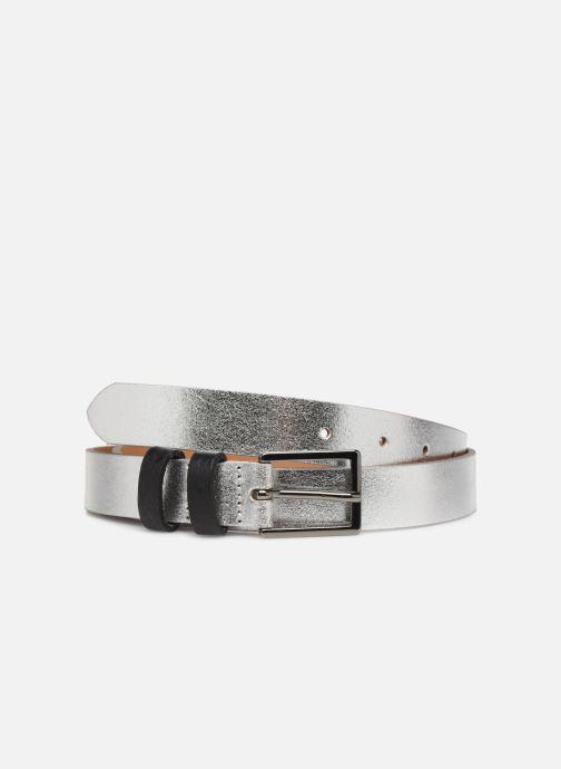 Riemen Esprit Metallic Belt Zilver detail