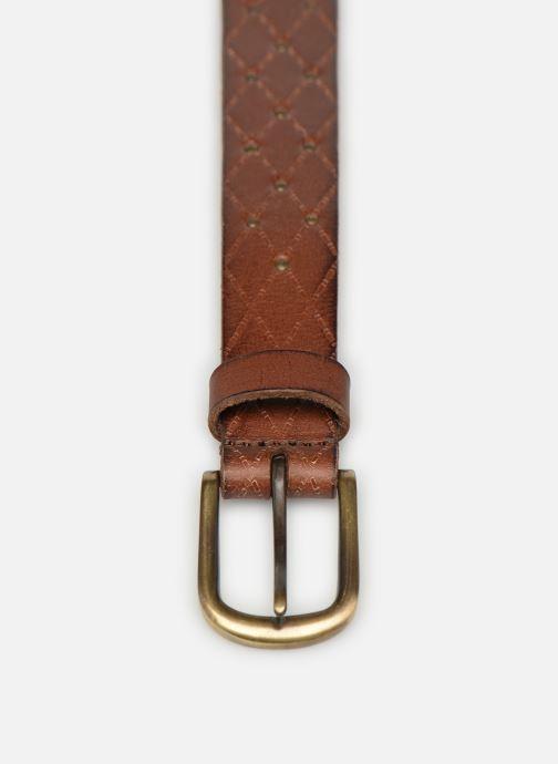 Skärp Esprit Stud Belt Brun bild av skorna på