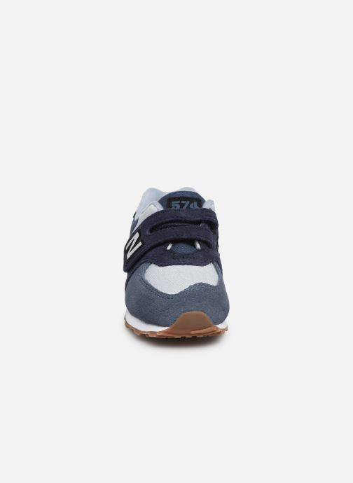 Trainers New Balance IV574 Blue model view