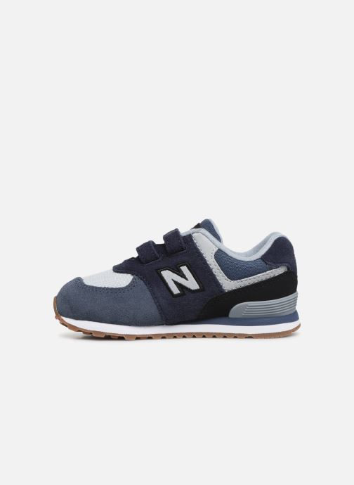 Trainers New Balance IV574 Blue front view