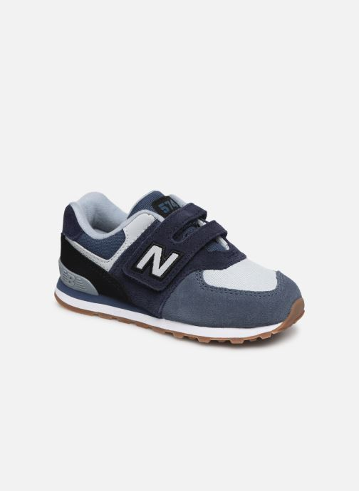 Trainers New Balance IV574 Blue detailed view/ Pair view