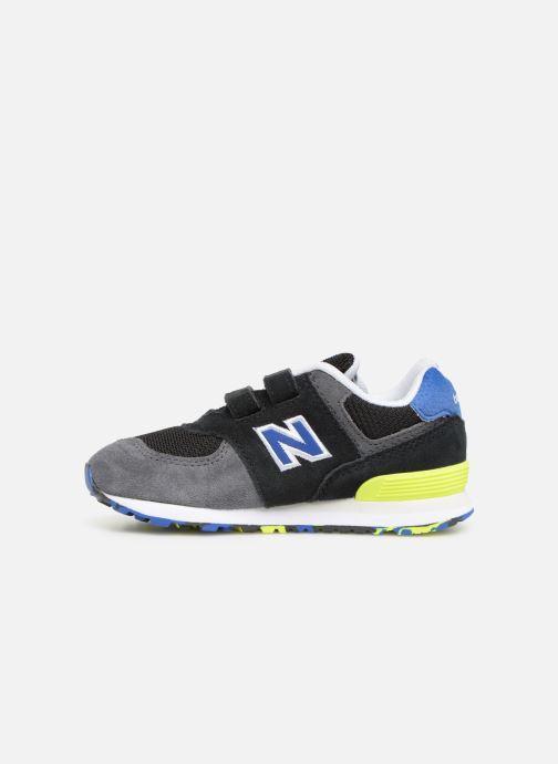 Sneaker New Balance IV574 schwarz ansicht von vorne