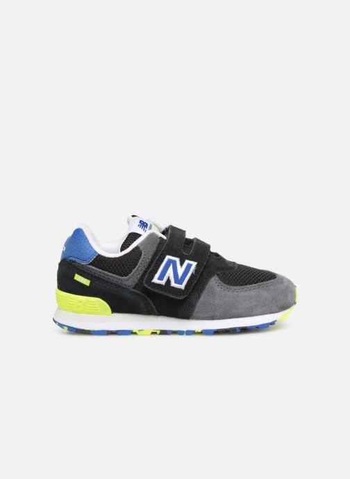 Sneaker New Balance IV574 schwarz ansicht von hinten