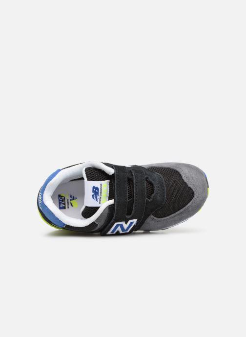 Sneaker New Balance IV574 schwarz ansicht von links