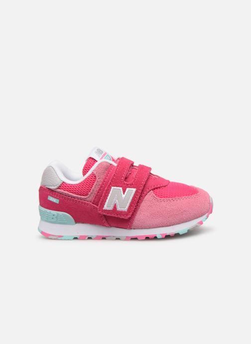 Sneaker New Balance IV574 rosa ansicht von hinten