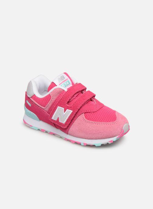 Sneaker New Balance IV574 rosa detaillierte ansicht/modell