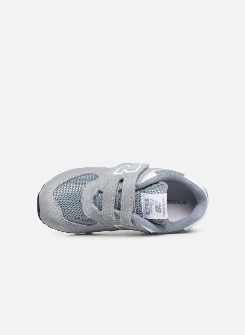 Trainers New Balance IV574 Grey view from the left