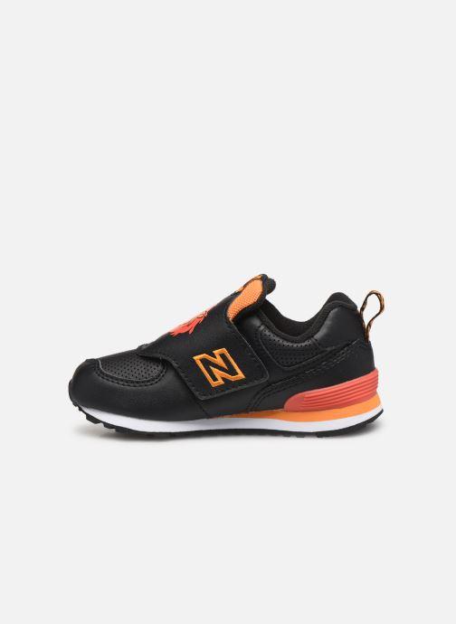 Sneakers New Balance IV574 Zwart voorkant