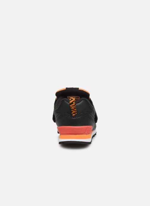 Sneakers New Balance IV574 Zwart rechts