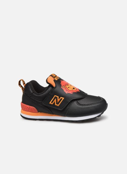 Sneakers New Balance IV574 Zwart achterkant