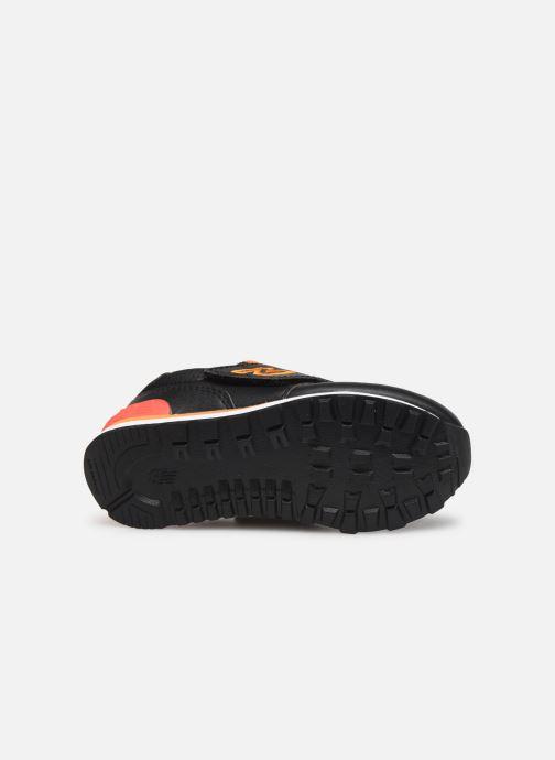 Baskets New Balance IV574 Noir vue haut