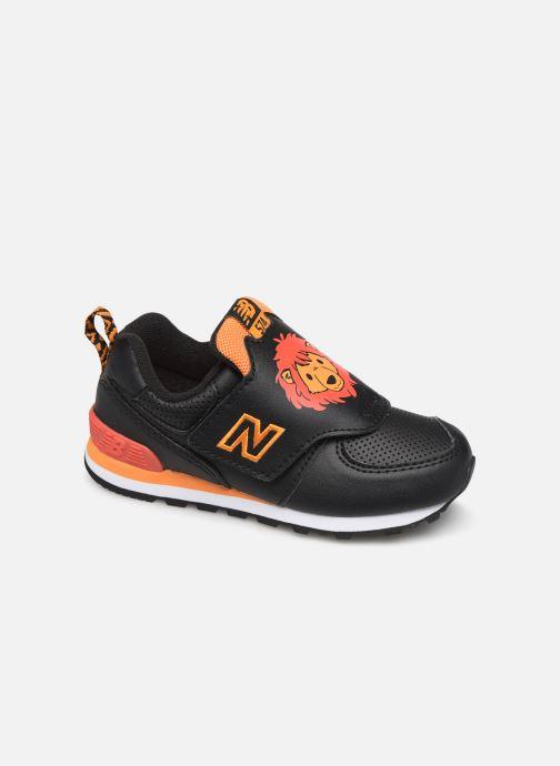 Sneakers New Balance IV574 Zwart detail