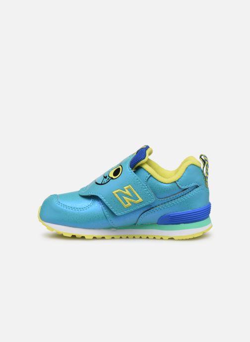 Sneakers New Balance IV574 Blauw voorkant