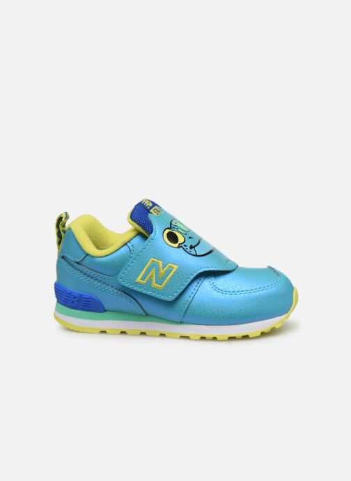Sneakers New Balance IV574 Blauw achterkant