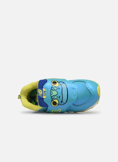 Sneakers New Balance IV574 Blauw links
