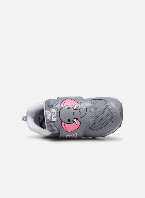 Sneakers New Balance IV574 Grijs links