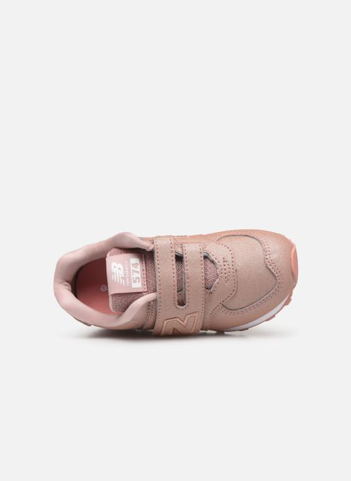 Trainers New Balance IV574 Pink view from the left