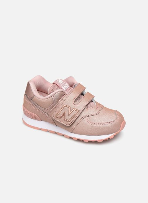 Trainers New Balance IV574 Pink detailed view/ Pair view