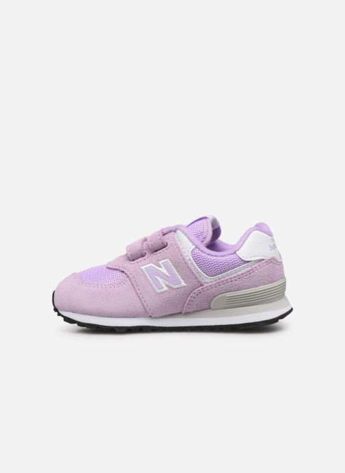 Sneakers New Balance IV574 Rosa immagine frontale
