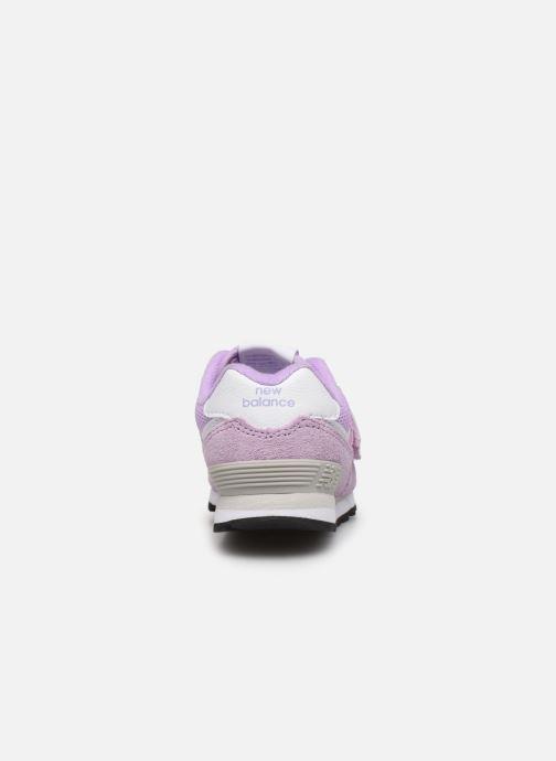 Sneakers New Balance IV574 Rosa immagine destra