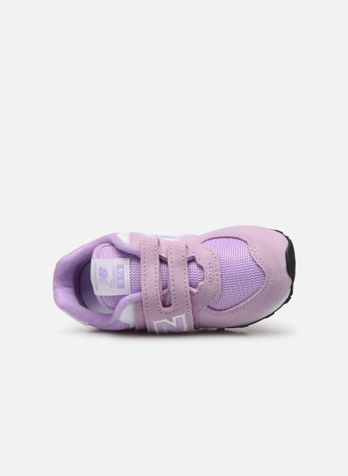 Sneakers New Balance IV574 Rosa immagine sinistra