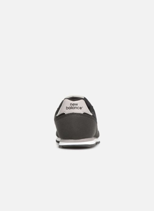 Baskets New Balance YC373 Noir vue droite