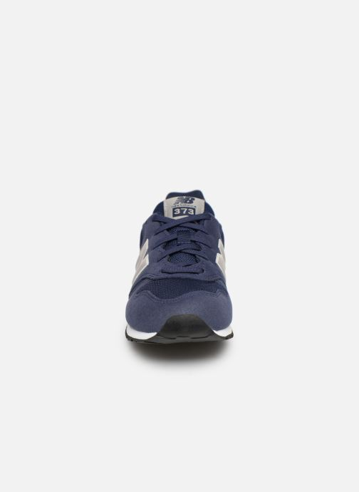 Baskets New Balance YC373 Bleu vue portées chaussures