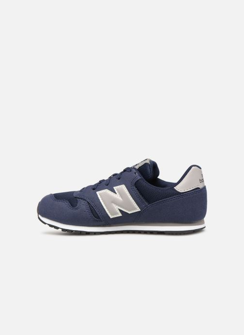 Trainers New Balance YC373 Blue front view