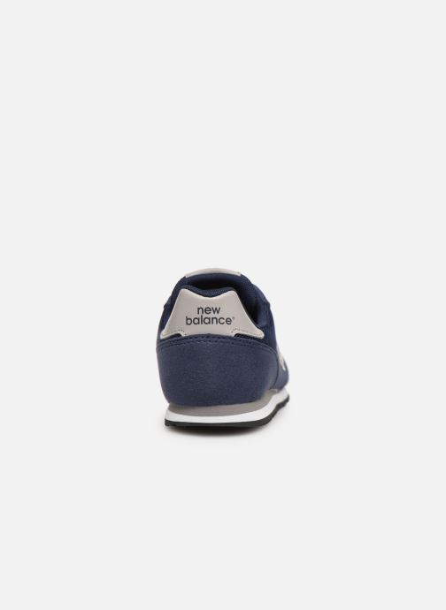 Trainers New Balance YC373 Blue view from the right