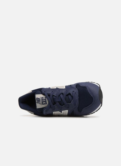 Trainers New Balance YC373 Blue view from the left