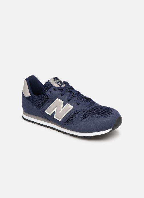 Trainers New Balance YC373 Blue detailed view/ Pair view